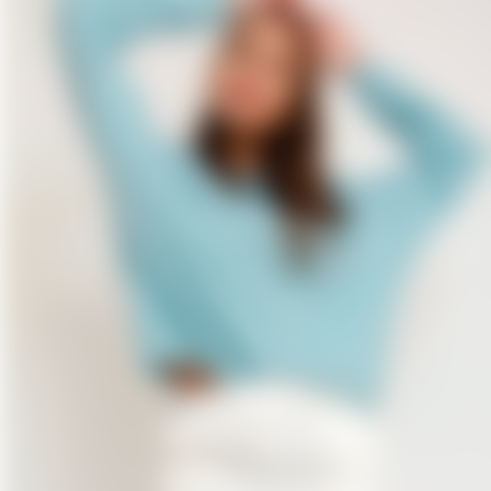 Sweet Like You Cosy Boatneck Sweater Turquoise