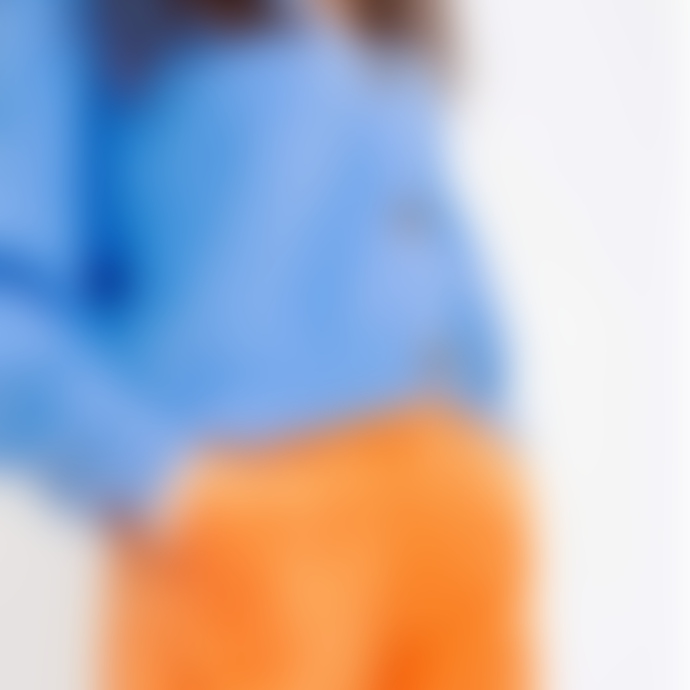 Orla Antwerp Short Buttoned Cardigan Blue