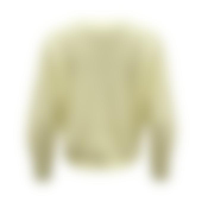 Orla Antwerp Short Buttoned Cardigan Light Yellow
