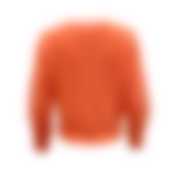 Orla Antwerp Short Buttoned Cardigan Orange