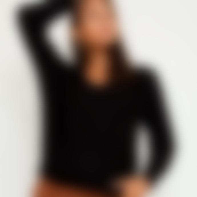 Sweet Like You V-Neck Sweater Black