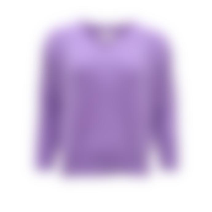 Sweet Like You V-Neck Sweater Lilac