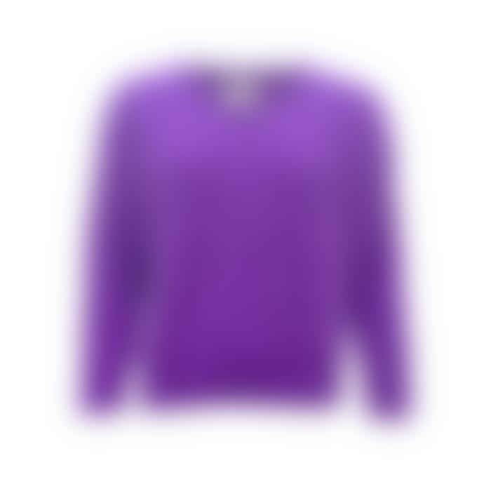 Sweet Like You V-Neck Sweater Dark Purple