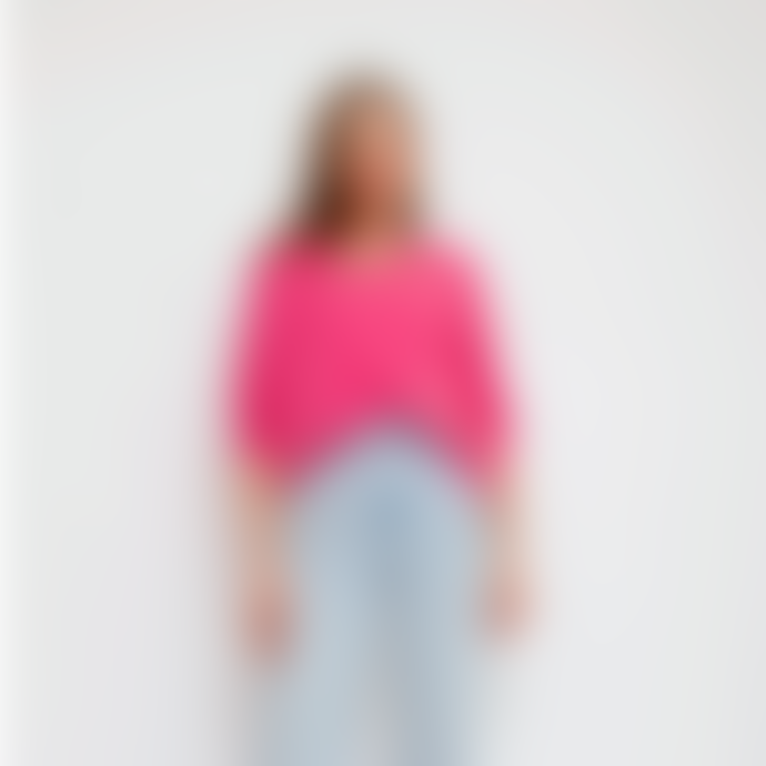 Sweet Like You V-Neck Sweater Pink