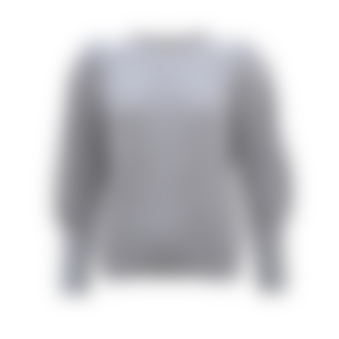 Sweet Like You Voluminous Shoulder Sweater Grey