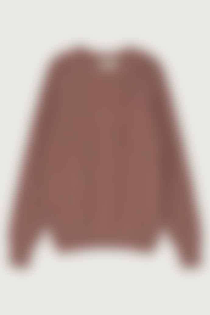 Thinking Mu Raspberry Trash Teja Knitted Sweater