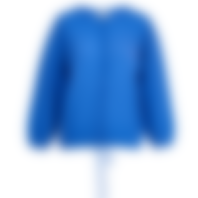 Essentiel Antwerp Zetting Cashmere Blend Cardigan In Blue