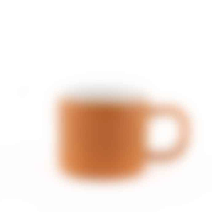 Quail's Egg Gorgeous Orange Ceramic Mug
