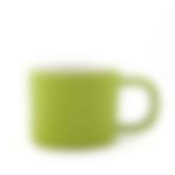 Quail's Egg Gorgeous Green Ceramic Mug