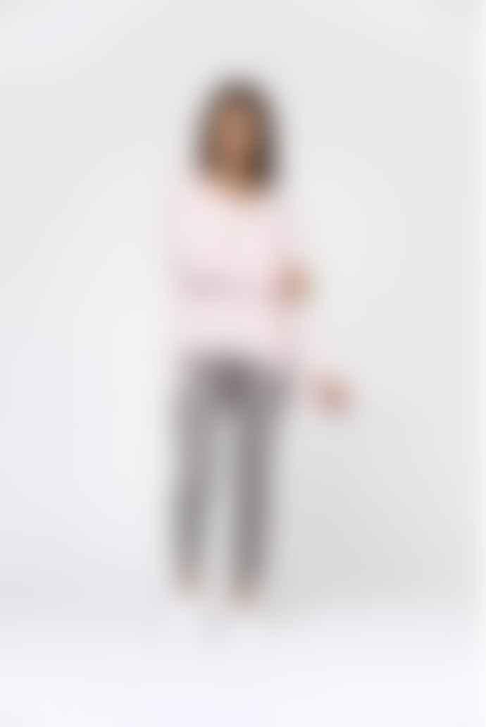Van Kukil Leora Boxy V Neck Cashmere Jumper - Worship Pink