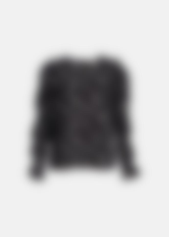 Essentiel Antwerp Zammoth Ruffled Sleeve Top