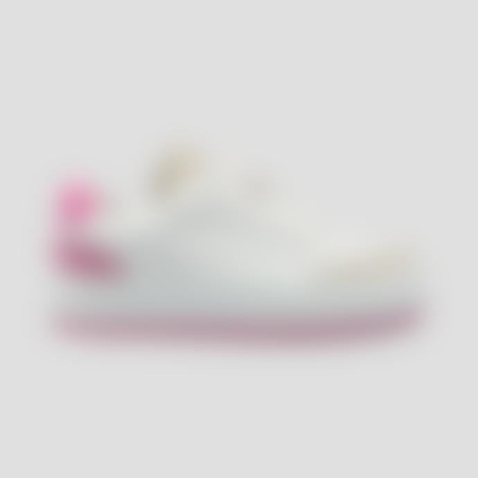 Philip Hog Majken Trainers In White Pink