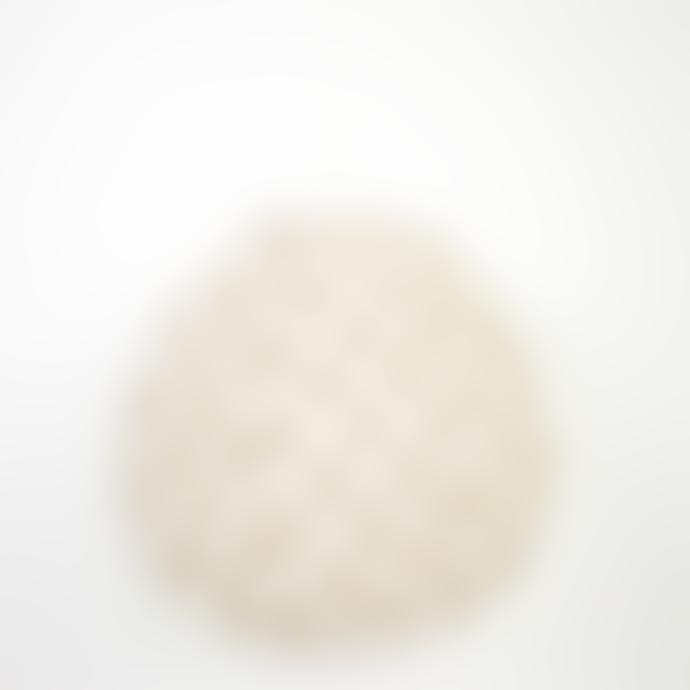 Afroart Warm Grey/White Meringue Drop Lampshade, XS