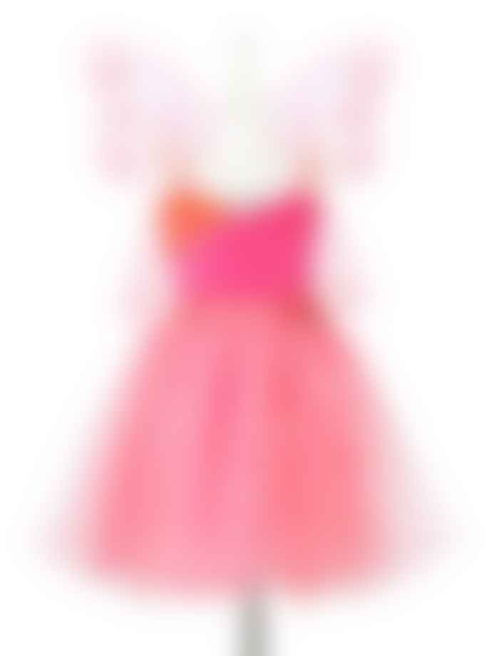 Souza Fuchsia Coral Yoline Dress with Wings