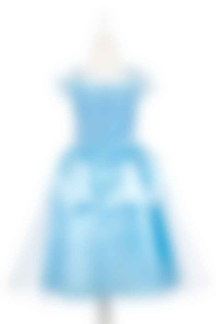 Souza Mint Catherine Princess Dress for 5 to 7 Years