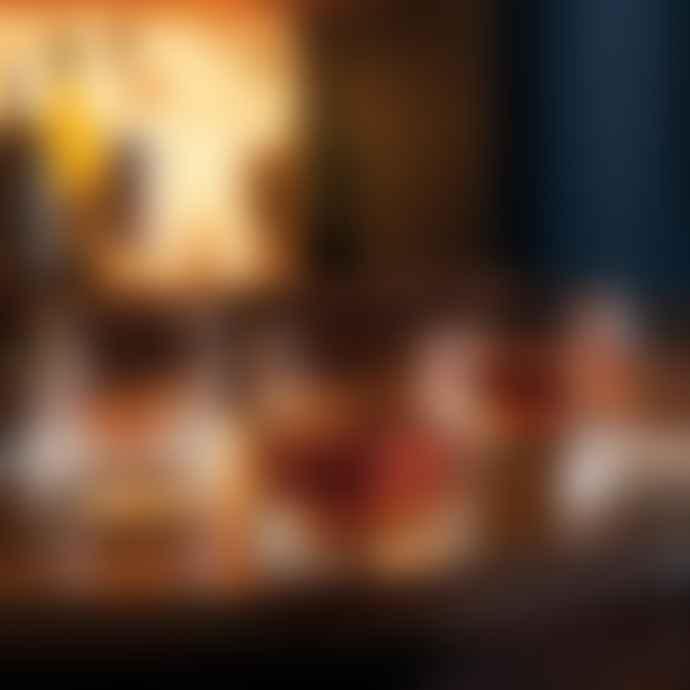 La Rochere Box of 4 Dandy Whiskey Glasses