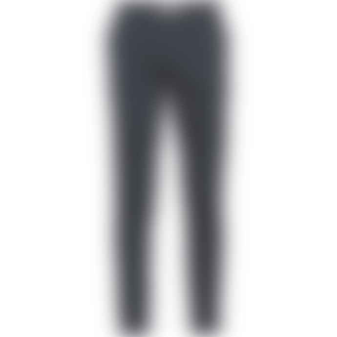 Knowledge Cotton Apparel  70234 Joe Slim Stretched Chino Pant Total Eclipse