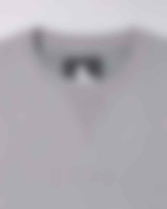 Edwin Katakana Embroidered Sweat Frost Grey