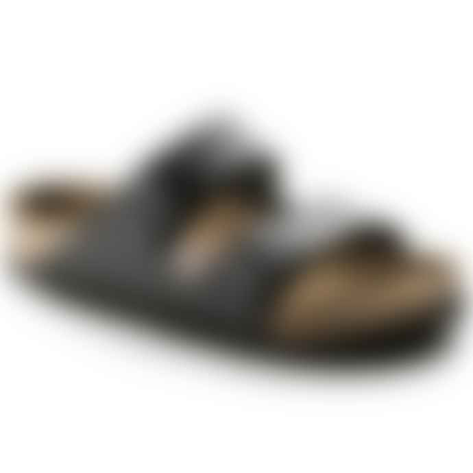 Birkenstock Arizona Black Soft Foot Bed Mens Sandal