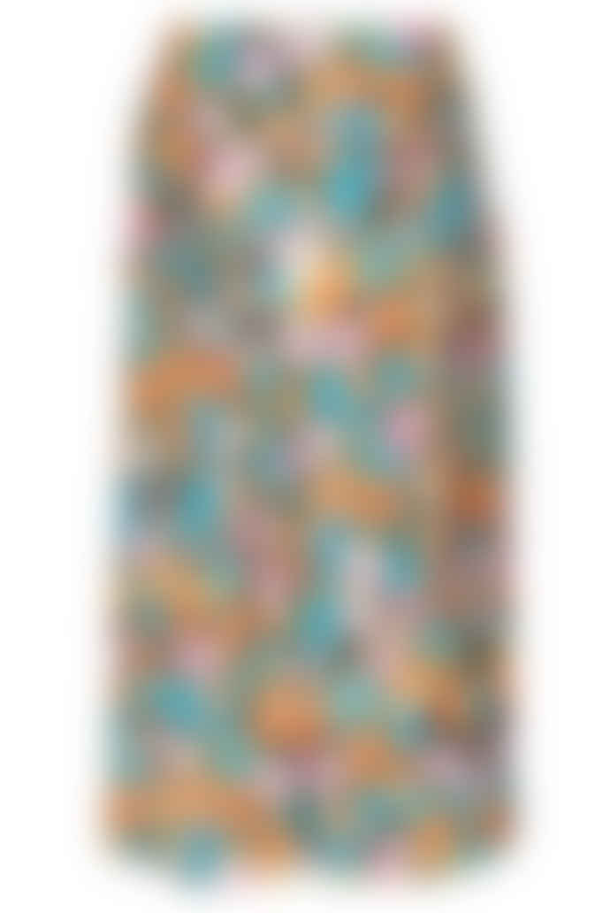 Stine Goya Paloma Skirt Watercolour Flora Sustainable