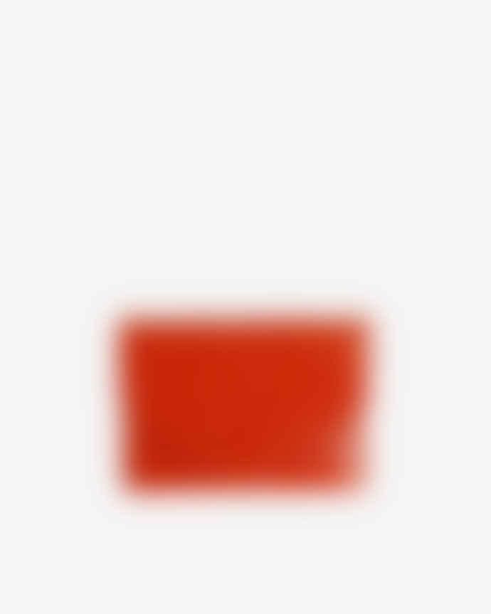 Hvisk Vegan Wallet Croco Orange/Red