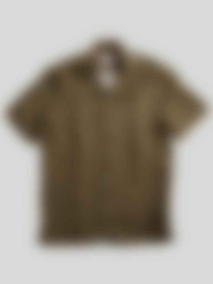 NN07 Army Miyagi Linen Shirt