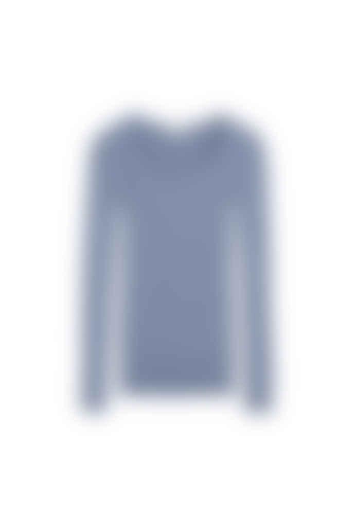 Armedangels Alaani Rib Jumper Foggy Blue