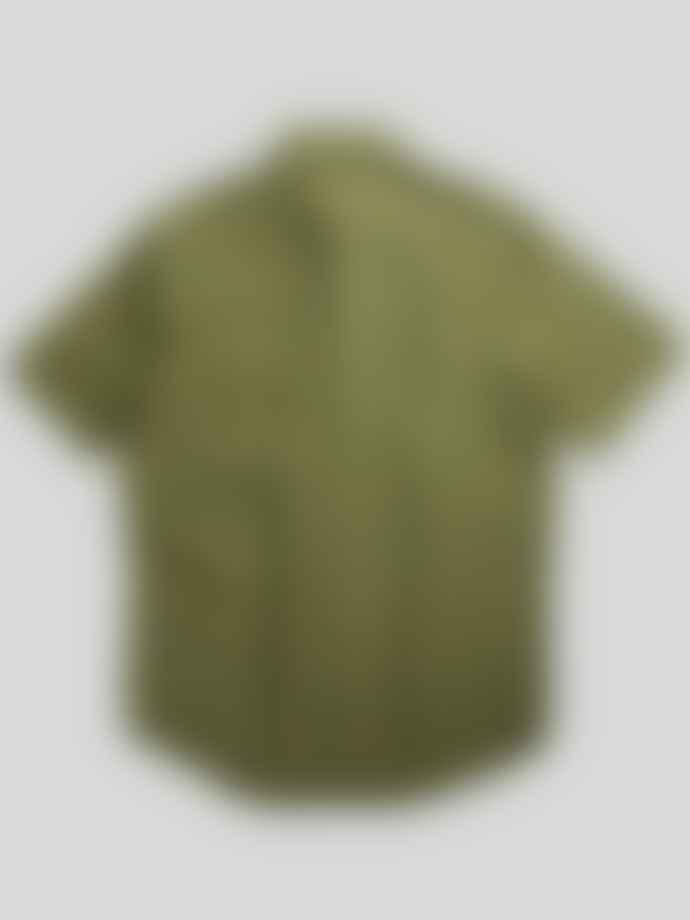 NN07 Errico Shirt In Leaf Green
