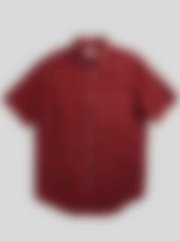 NN07 Errico Shirt In Burnt Red