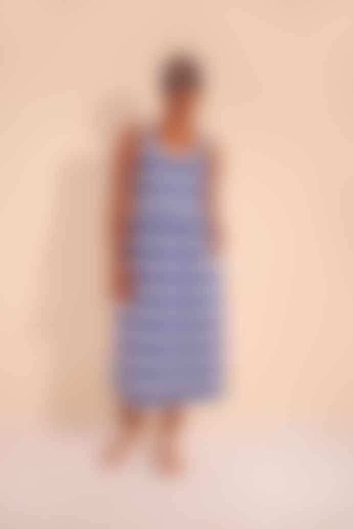 LF Markey Albert Cobalt Stripe Dress