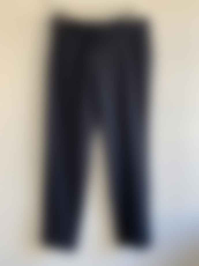 Pomandere Twill Wool Pants Navy