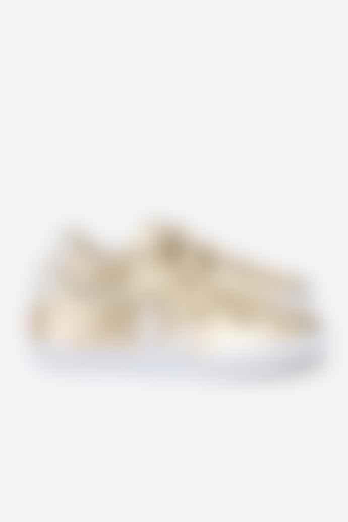 Veja Esplar 3 Lock Leather Platine White Womens Shoes