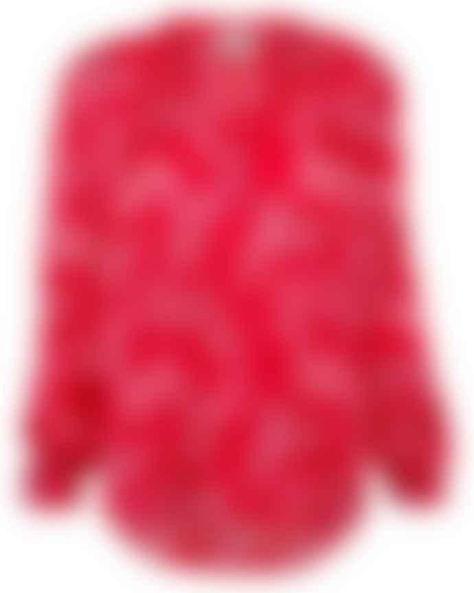 Primrose Park Sandy Shirt Palm Leaf Red