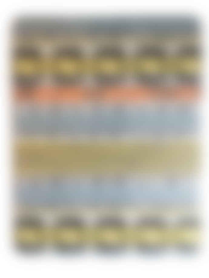 Mustard House Sunburst Stripe Placemats Set of 4