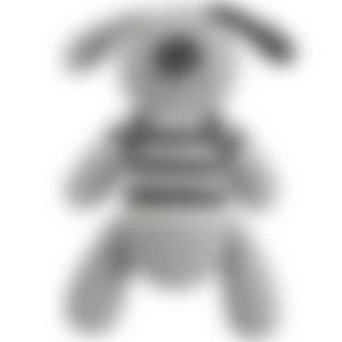 Albetta Crochet Dog Rattle Toy