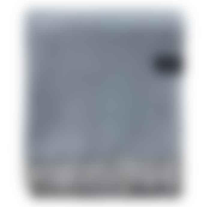 The Tartan Blanket Co. Charcoal Herringbone Blanket