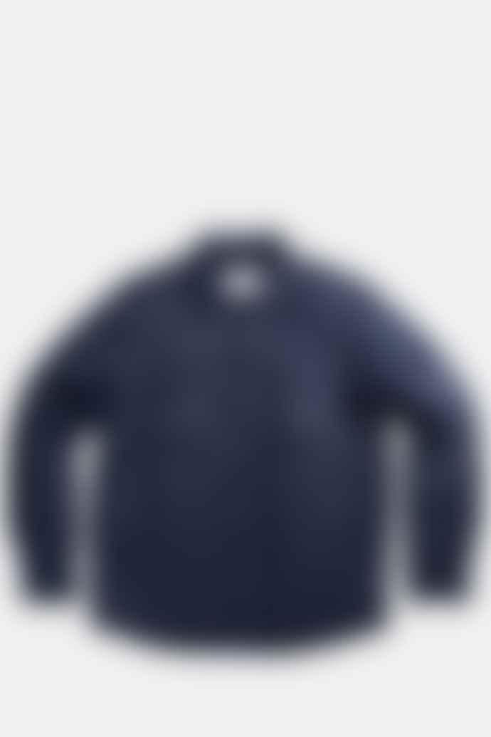 NN07 Columbo Primaloft Overshirt In Navy Blue