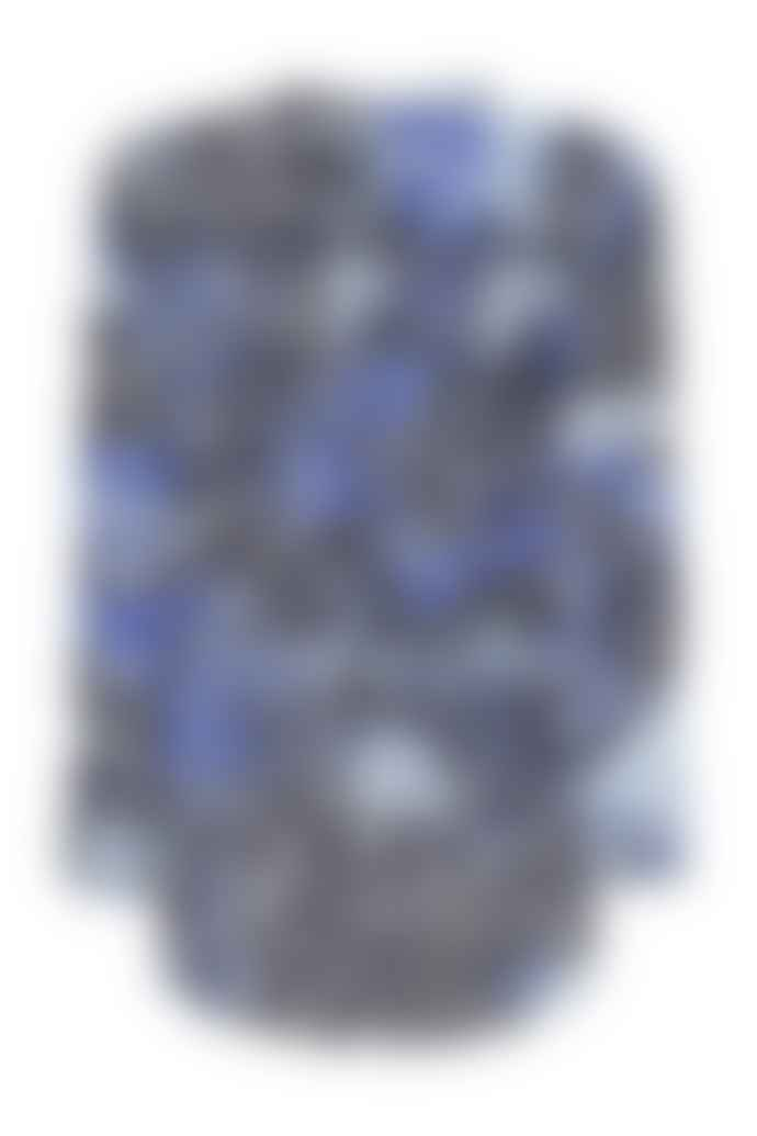 Mercy Delta Blue Leopard Ombre Azure Print Top