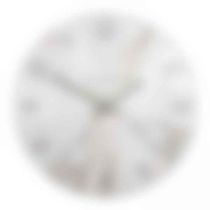 Thomas Kent Brown Pickled Oak Wharf Clock