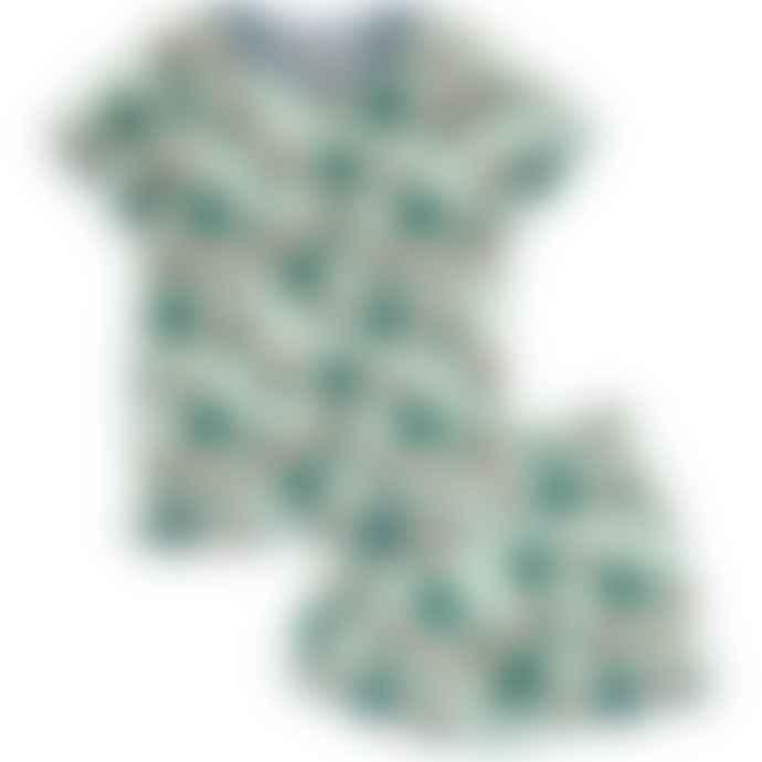 Meyadey Whale Waters Short Sleeve Pyjamas
