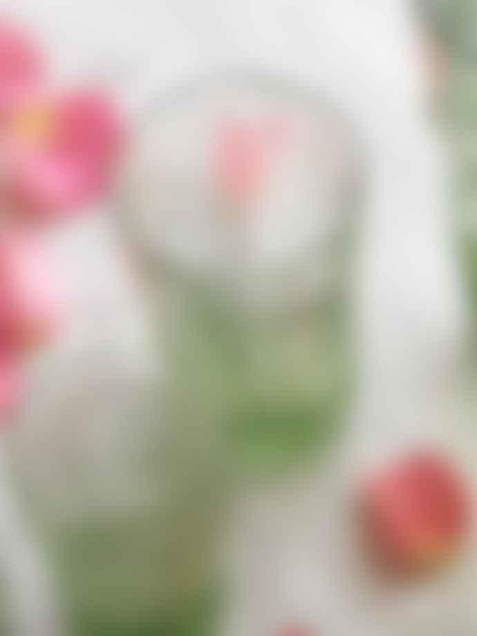 Refound Lilac Fleur De Lys Glass