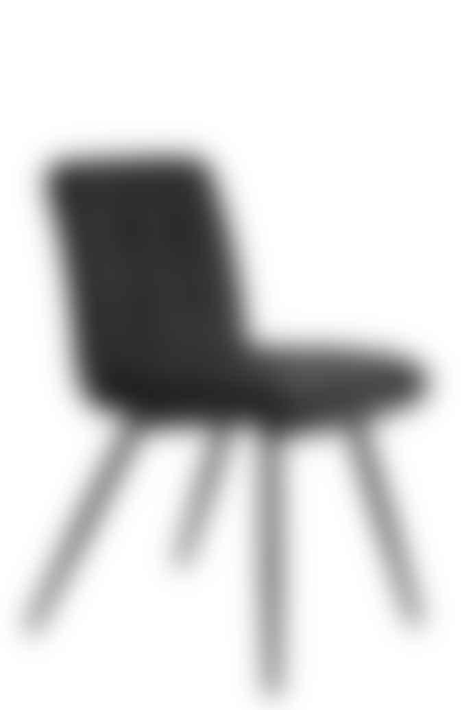 livs Slate Grey Elton Velvet Dining Chair