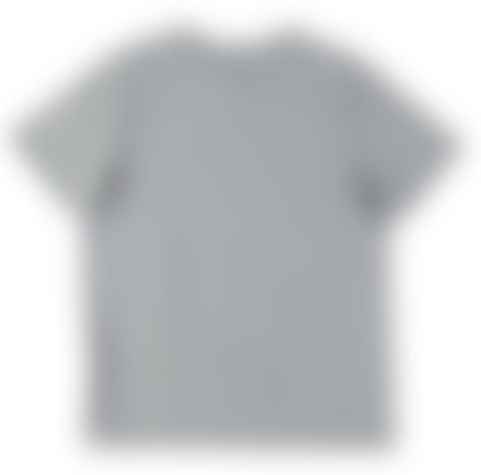 Eat Dust T Stinger Organic Cotton Bee T Shirt Grey