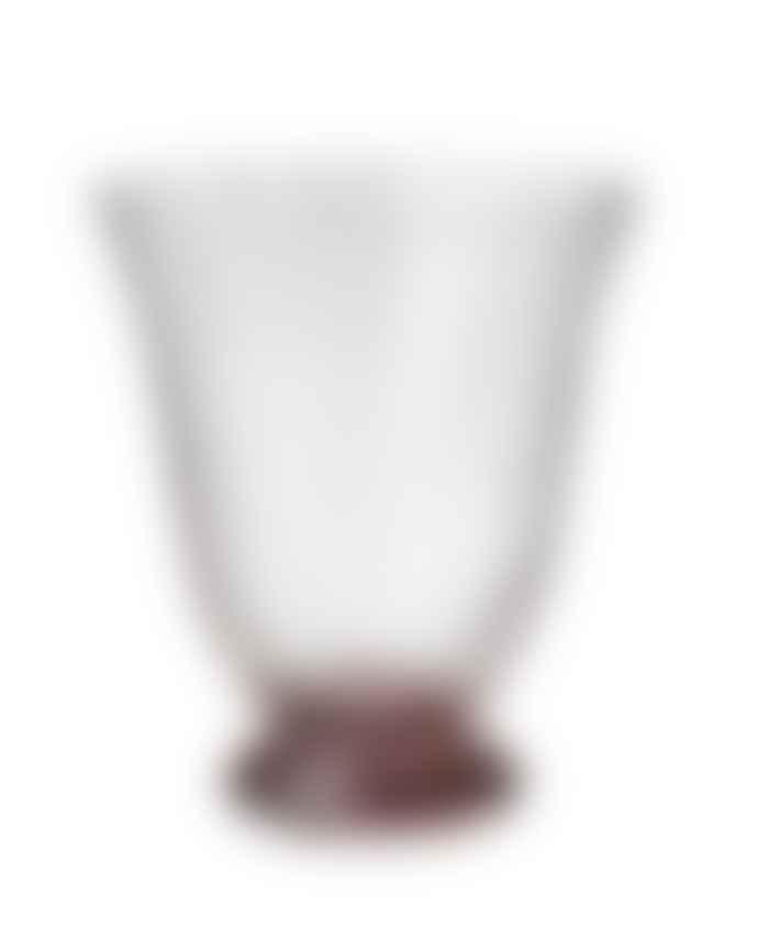 Bungalow DK Set of 2 Blush Trellis Water Glass
