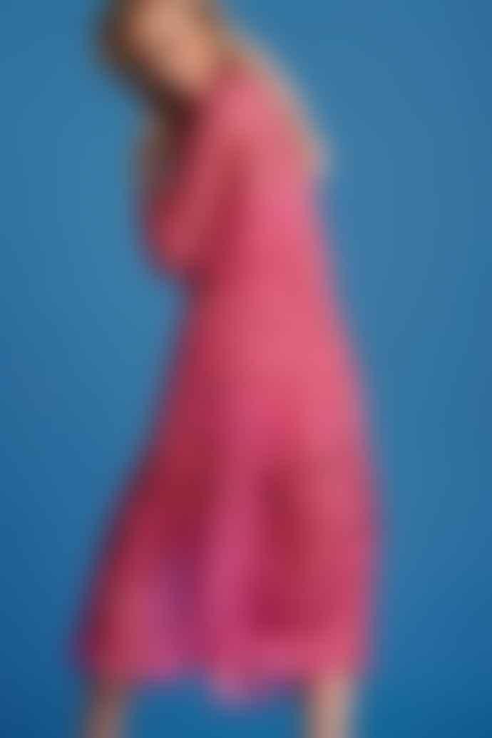 Pom Amsterdam Strawberry Pink Dress