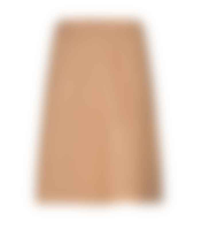 Mos Mosh Adalyn Leather Skirt New Sand