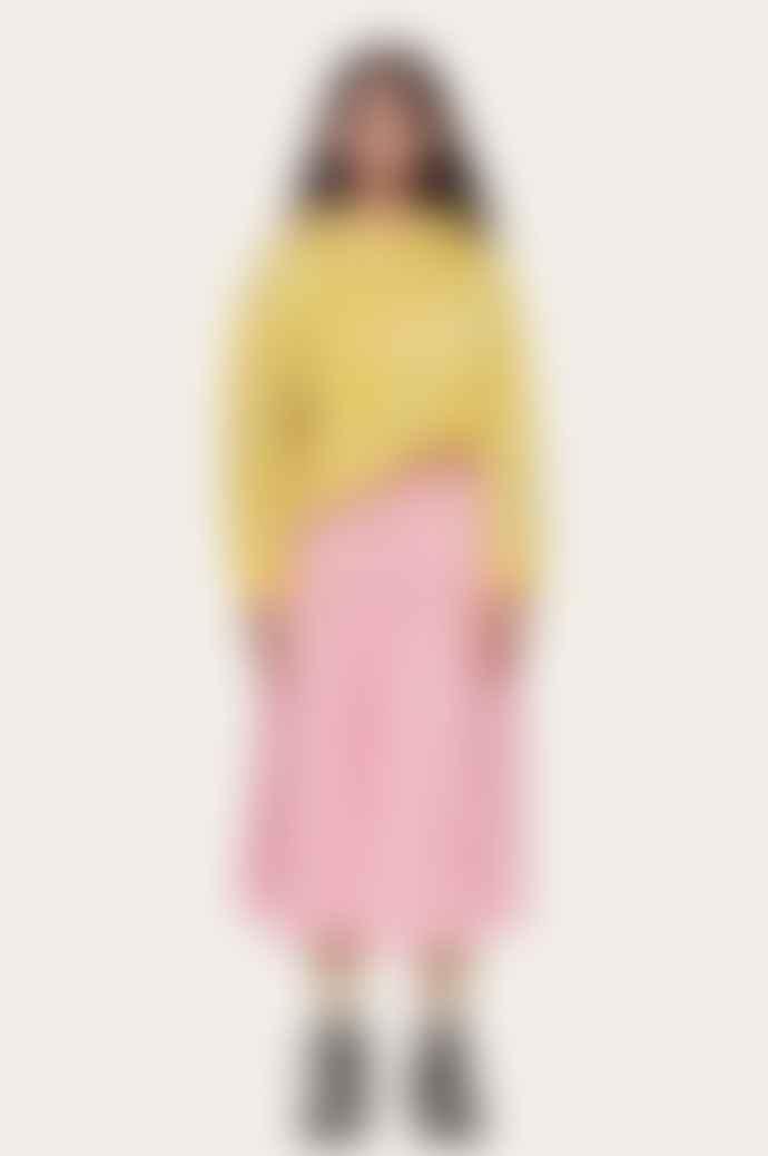 Stine Goya Maura Skirt In Distortion Pink
