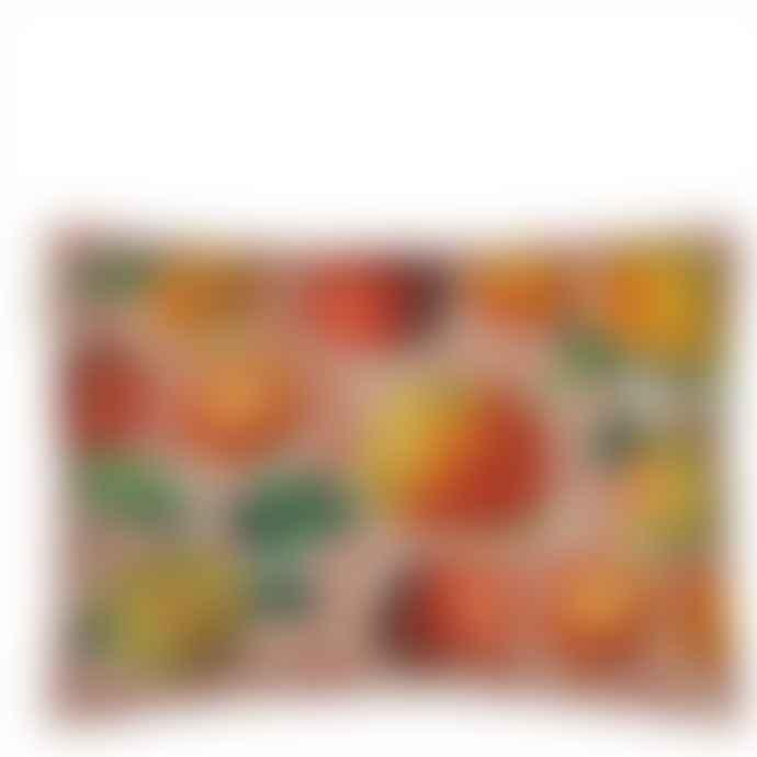 Designers Guild John Derian Apples Carmine Cushion