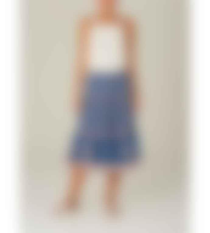 M.A.B.E Madi Midi Skirt