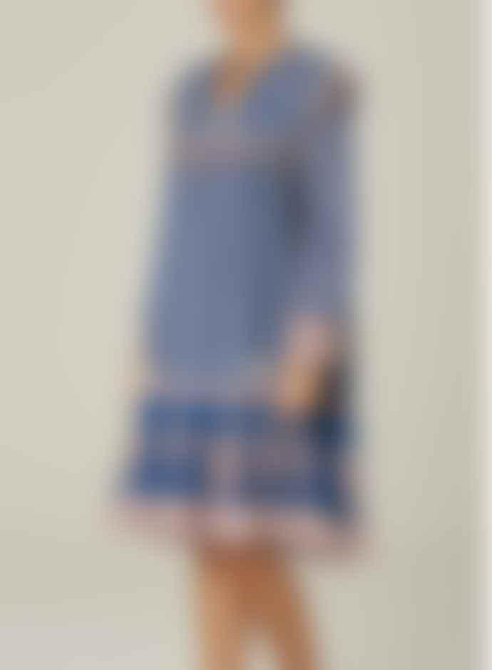 M.A.B.E Madi Print Midi Dress